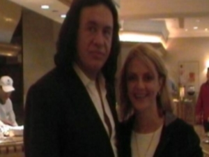 Lisa B. with Gene Simmons