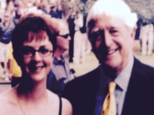 Lisa B. with Michael Parkinson