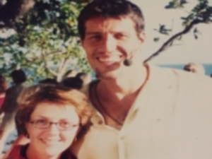 Lisa B. with Tony Robbins
