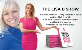 #3 Podcast – Kim Johnson – Tony Robbins Coach – Author Nail it in 90.